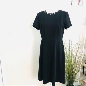 Karl Lagerfeld Black Cocktail Dress